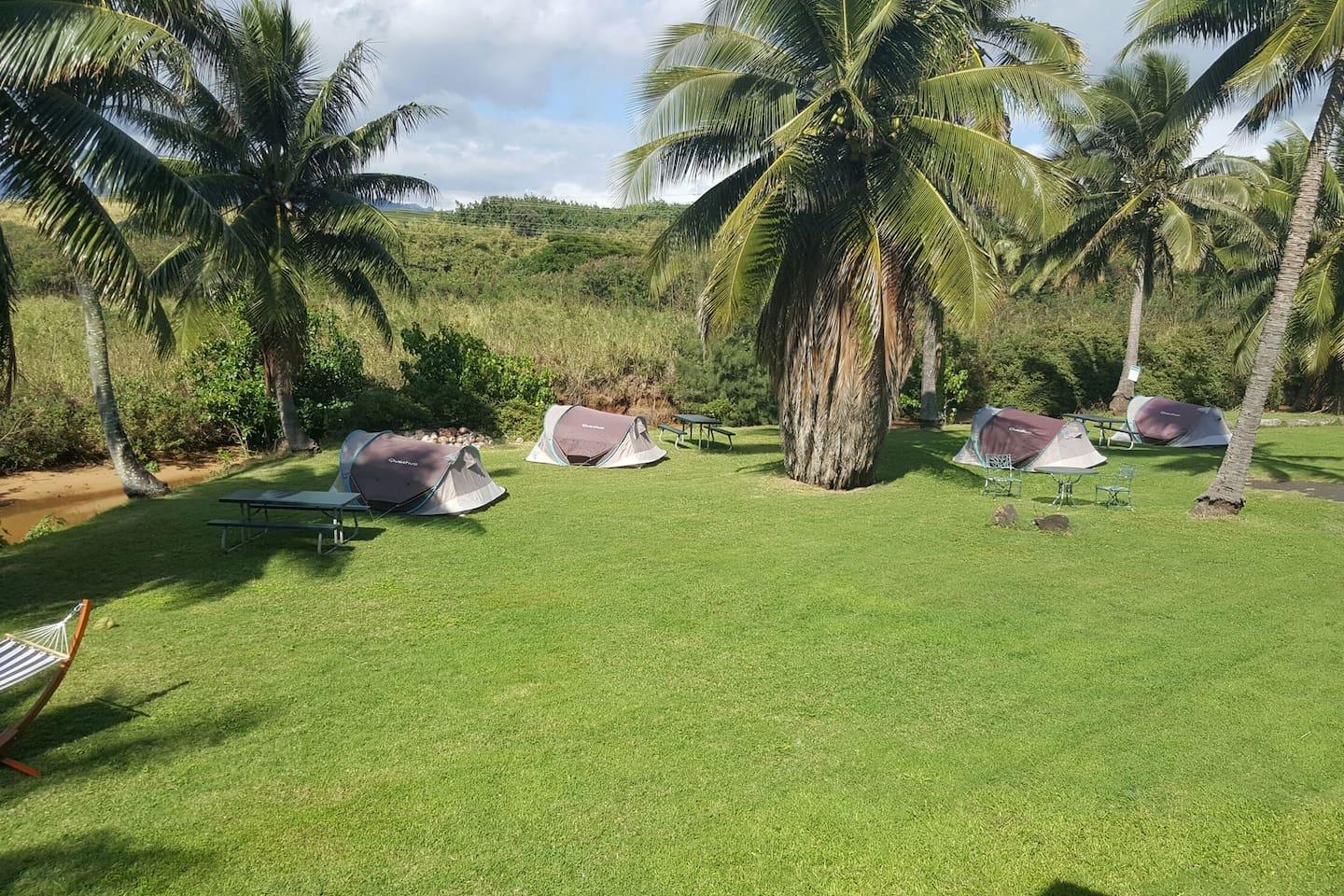 Space #3 -Old Kapaa Town Campground