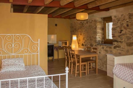 Apartamento rural con jardín - Pravia