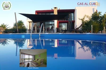 B&B Cas al Cubo - kamer Oliveira - Bed & Breakfast