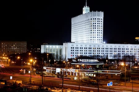Moscow Lux Arbat White Home.