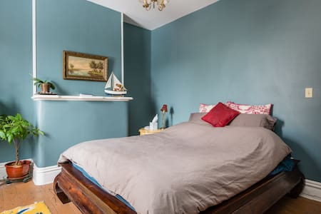 Victorian rowhouse - private room 1 - Troy - Casa