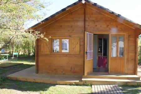 Chalet cosy à 30 mn de Bordeaux  - Dağ Evi