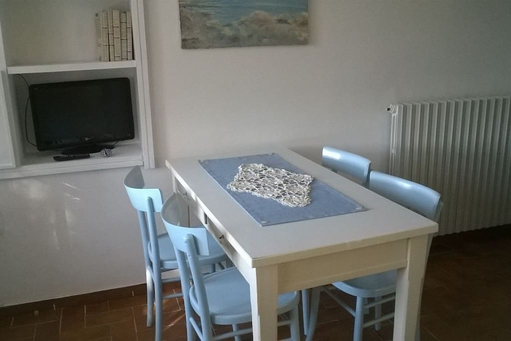 Table in the living room