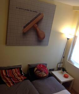 habitación céntrica, bonito piso