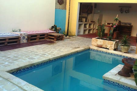Colonial zone+Pool+Wi-fi (Taino) - Santo Domingo - Rumah