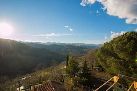 big appartament in tuscany country  - Casa