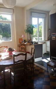 Chambre, Petit Déjeuner & Dîner fait maison inclus - Haus