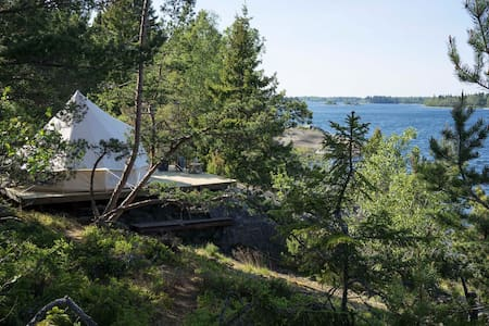 Fejan Canvas Hotel - Glamping in the archipelago - Tent