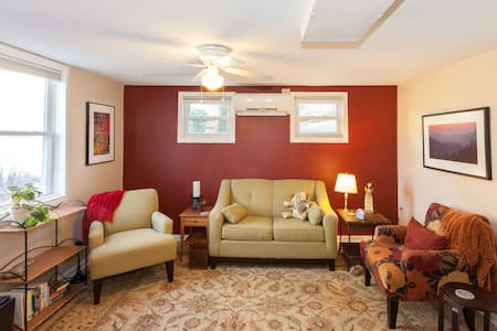 The Red Door  - Asheville - Apartment