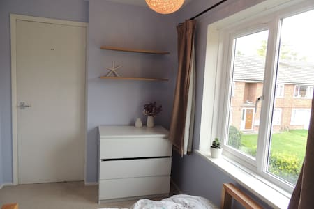 Light double room in homely 2-bed maisonette - Cholsey