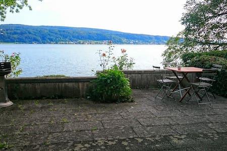 Haus am See mit Privatstand, 2  Zimmer - Reichenau - Casa
