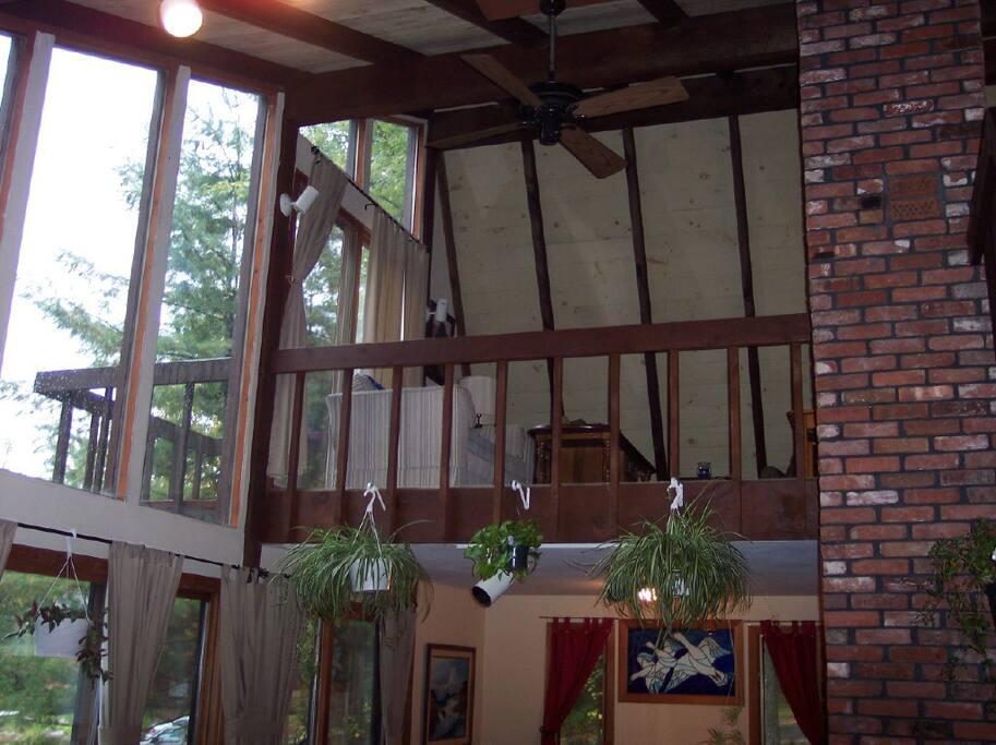 Loft and upper deck
