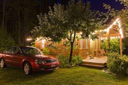 Wing Creek Resort - Kootenay Lake - Blockhütte