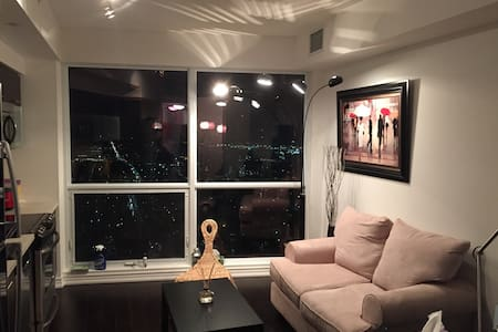 1 bed/Aura condo/wifi/free parking - Toronto - Appartamento