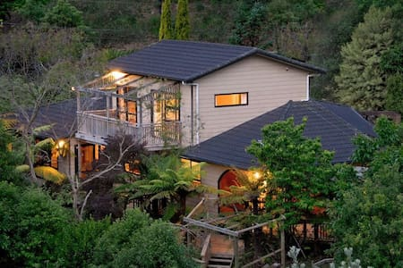 Guest suite, private bathrm&balcony - Whanganui - House