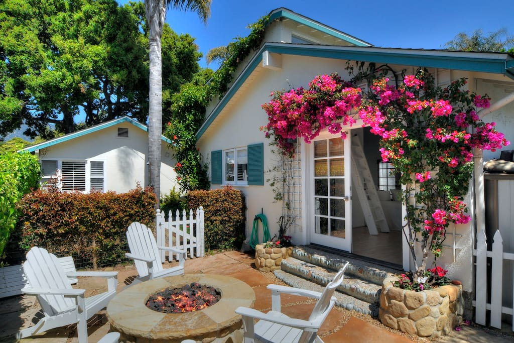 Aman casita butterfly beach houses for rent in santa barbara for Beach house rental santa barbara