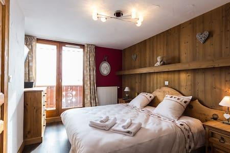 BnB Ch 2 pers. coeur de l'Alpe (n5) - Bed & Breakfast