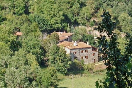 Rustic house with BBQ and terrace - Saint-Basile