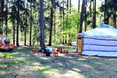 Back to basic Ger (Yurt) at Nature-camping site - Renkum - Yurt