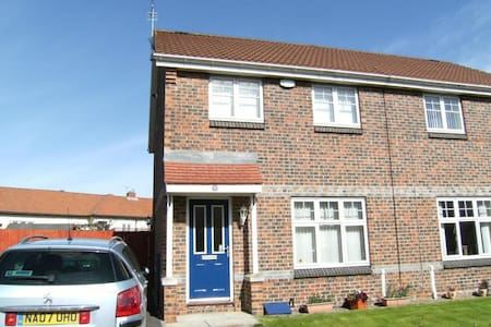 1 bedroom-semi detached house close to Tyne Tunnel - North Shields - Casa