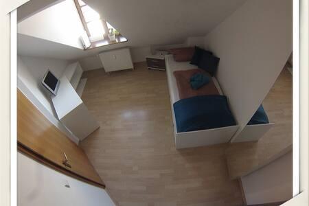 Zimmer mitten in der Altstadt - Ingolstadt - Apartment