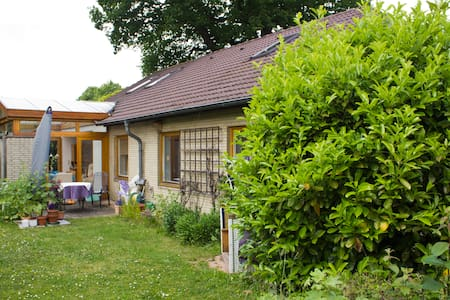 Quietly situated but close to Kiel - Bungalow