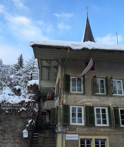200 Year Old House, Interlaken - Erlenbach im Simmental - House