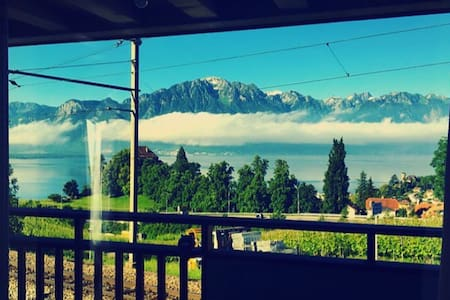 Beautiful Duplex near Montreux - Talo