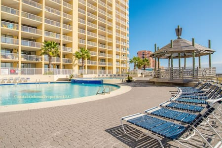 GORGEOUS Beachfront Penthouse:  pools, tennis, gym - 奧蘭治海灘(Orange Beach) - 公寓