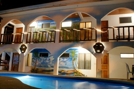 Nosara playa garza hotel cabinas