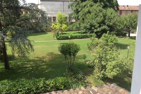 casa in campagna con parco - Cornaleto