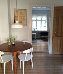 Cosy 2-roomed apartment in centre - Odense - Apartment