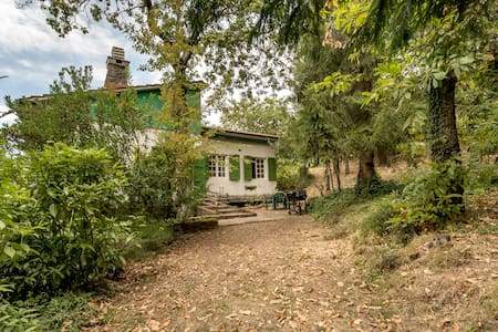 Cottage with a garden Montecatini Tuscany - House