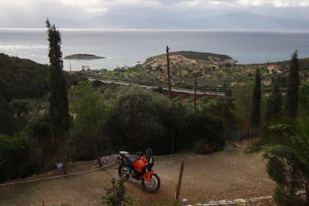 The view of Korinthiakos