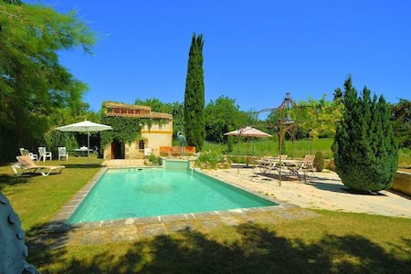 Spacious house w/ swimming pool - Cucuron - Dom