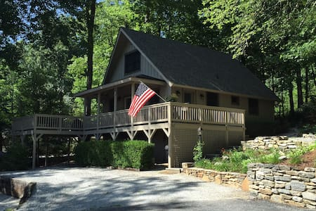Mountain Lake House Chalet - Lake Toxaway