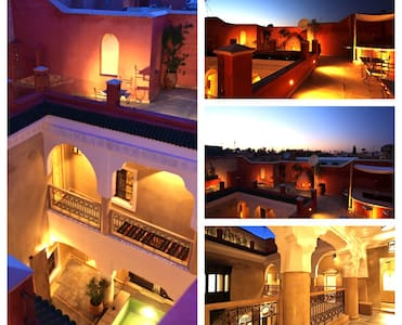 Riad Dar ten Marrakech, BB, jacuzzi - Bed & Breakfast