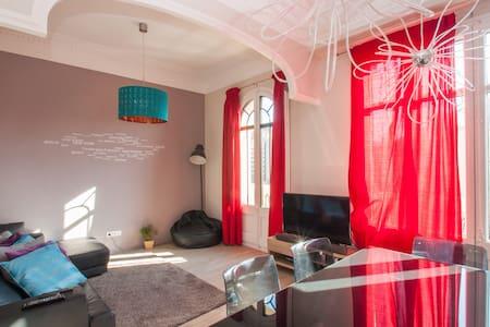 Bedroom +private bath in San Antoni