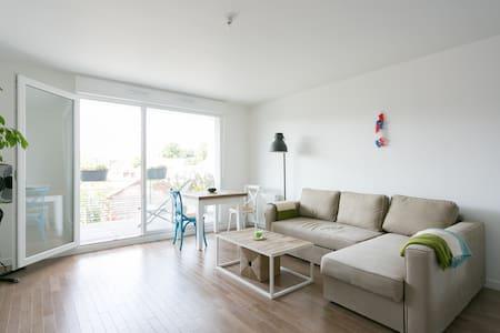 Chambre privée dans un appartement neuf - Cachan - Appartement