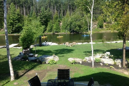 """Luxurious Water Front vacation cottage built in 2014! It's like staying in  a """"5 Star"""" Resort and Spa! Two minutes to an amazing Beach, sunsets and waterfalls this is an incredible place to stay while exploring the """"The Bruce Peninsula"""""""