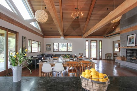 Modern Farm House on Goat Dairy - Tomales - Talo