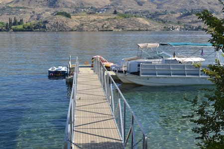 Villa For 2 at Lake Chelan w/ Dock - Villa