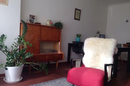 Spacious apartment with big garden - Lejlighed