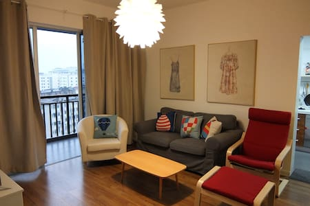 Cosy,sunny 2 room apartment阳光小两居 - Nanning
