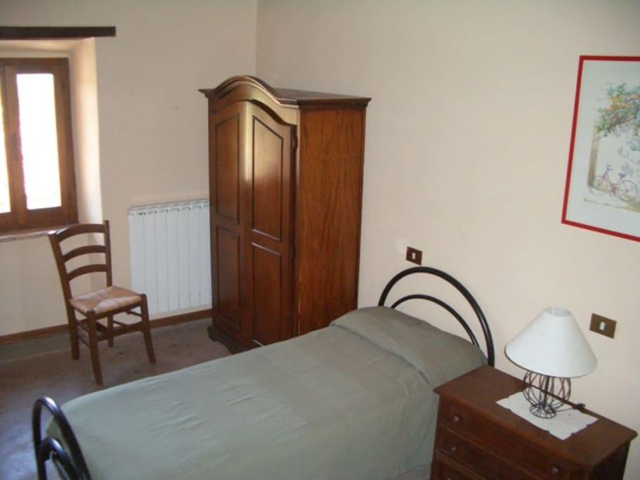 Twin bedrooms first floor