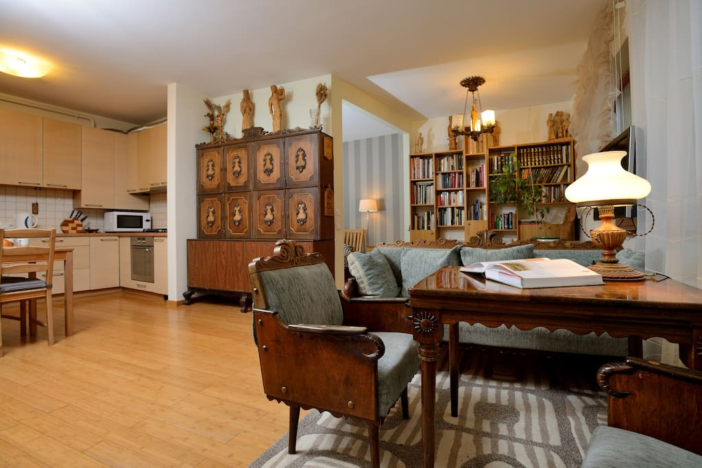 Exclusive design flat in Old Town