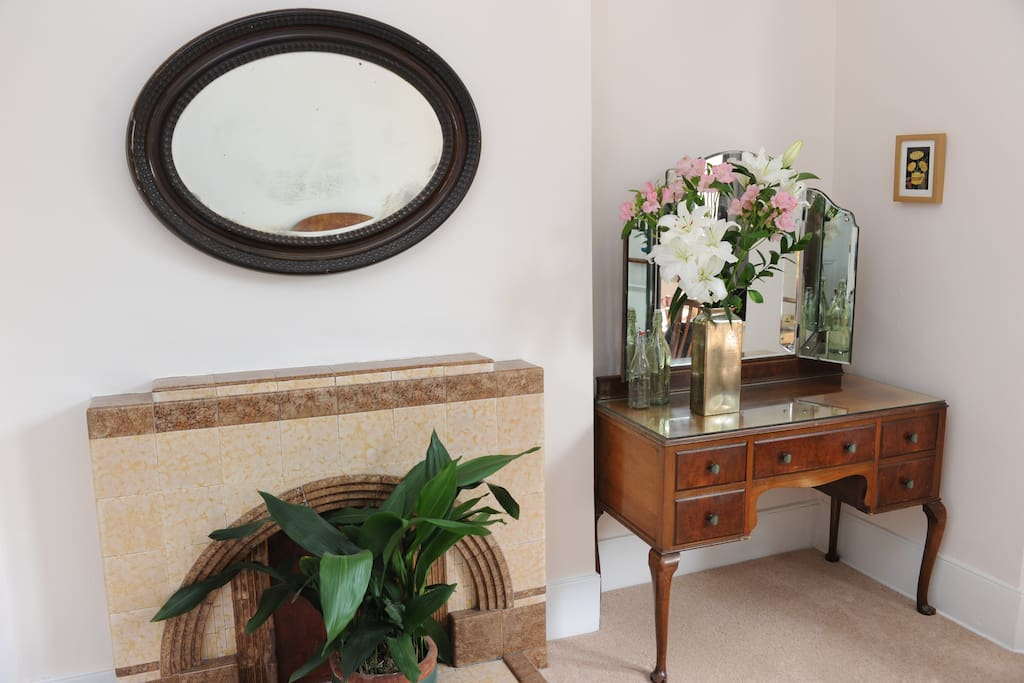Your bedroom has lots of storage space including the dressing table and large wardrobe.