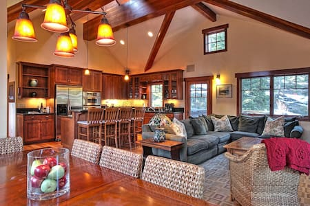 Mt. Escape - Luxury 4 BR, Hot Tub, Dogs Welcome - Carnelian Bay - House