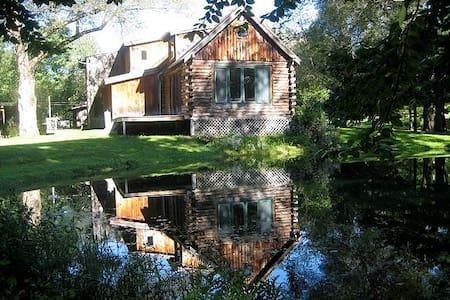 Stunning catskills cabin with ponds - Mökki
