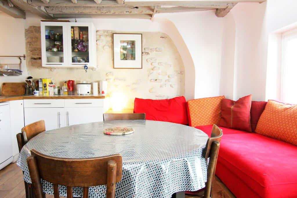 lovely and cozy paris (3ème arrndt)
